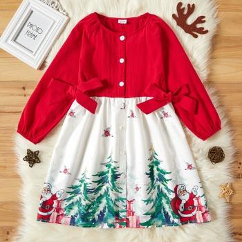 Kid Girl Christmas Dress
