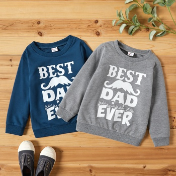 Toddler Boy Casual Letter Print Tee