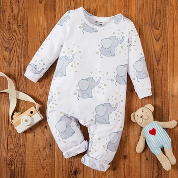 Baby Elephant Stars Jumpsuits