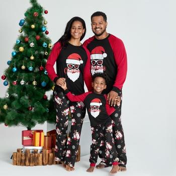 Family Matching Cool Santa Print Christmas Pajamas Sets (Flame Resistant)