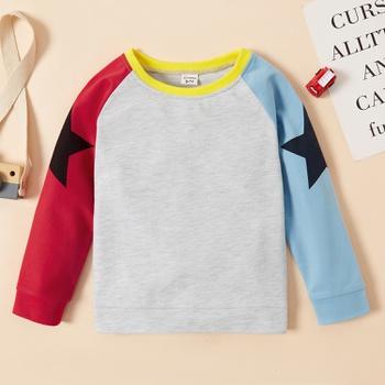 Kid Boy Sports Stars Sweatshirt
