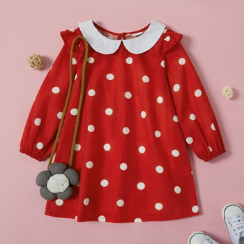 Toddler Girl Polka Dot Dress
