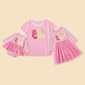 Care Bears All The Feels Mommy and Me Cotton Tee and Dress