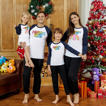 Care Bears Positive Vibes Cotton Family Tees/Onesie/Dress
