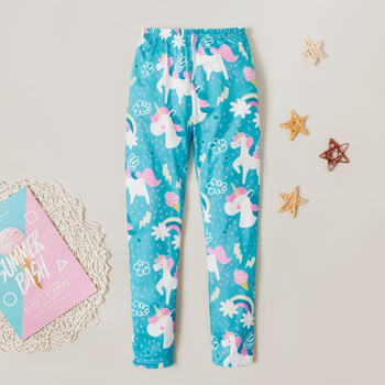 Stylish Unicorn Print Leggings
