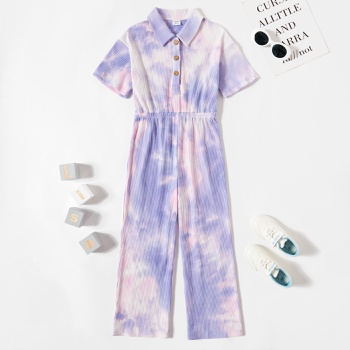 Kid Girl Tie Dye Rompers