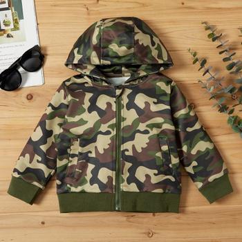 Baby / Toddler Boy Camouflage Hooded Jacket