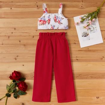 Toddler Girl Floral Top & Pants Set