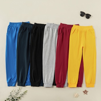Trendy Solid Casual Sweatpants