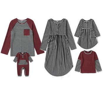 Mosaic Family Matching Stripe Sets