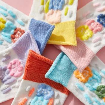 3-pack Baby / Toddler / Kid Flower Knitted Socks
