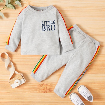 Baby Unisex Sweatshirt and Sweatpants Set