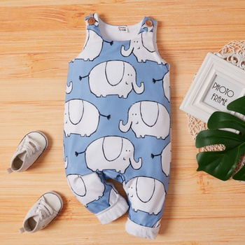 Baby Boy Elephant  Jumpsuits
