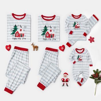 Christmas House Family Matching Pajamas Sets