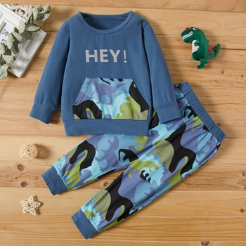 2-piece Baby / Toddler Camouflage Top and Pants Set