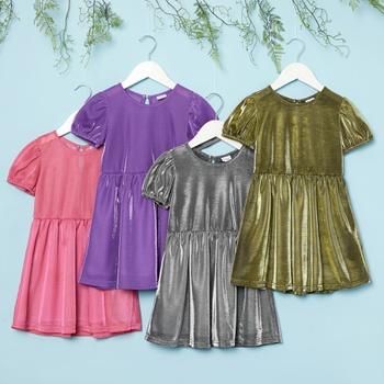 Toddler Girl Multicolor Knee length Dress