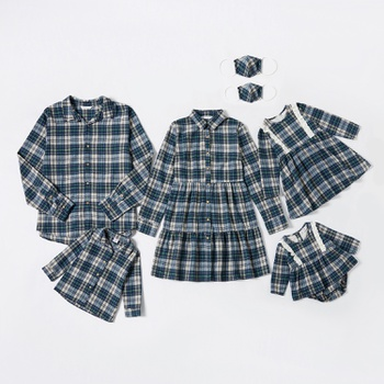 Mosaic Family Matching Plaid Sets