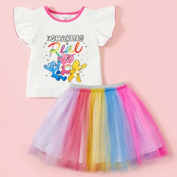 Care Bears Sharing is Real Rainbow Tutu Set