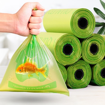 Pet poop bag degradable environmental protection poop bag (8PCS)