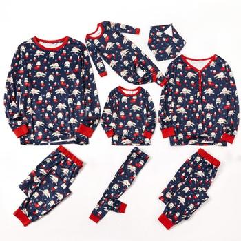 Christmas Matching Lovely Sloth Print Family Pajamas Sets