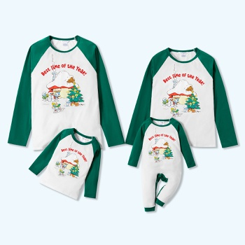 Smurfs Decor Tree Christmas Family Matching Tops