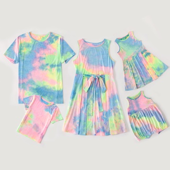 Family Matching Tie Dye Series Sets