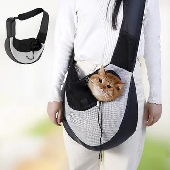 Pet breathable travel shoulder bag portable diagonal bag