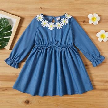 Toddler Girl Denim Dress