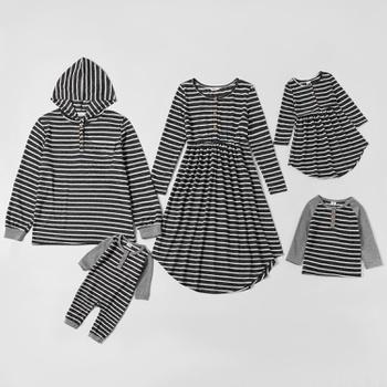 Mosaic Family Matching Stripe Sets