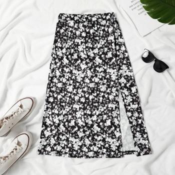 Pretty Floral Highwaist Skirt