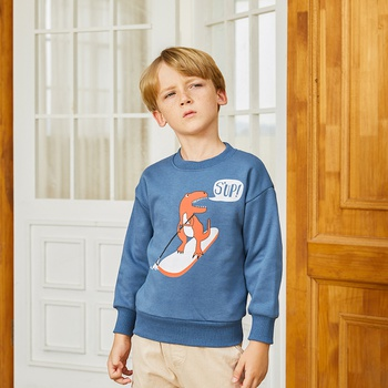 Fashionable Cartoon Animal Dinosaur Sweatershirt