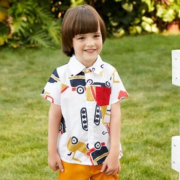 Toddler Boy Adorable Car Print Shirt