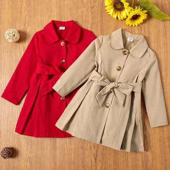Toddler Girl Elegant Coats & Jackets