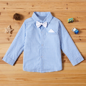 Baby / Toddler Plaid Long-sleeve Shirt