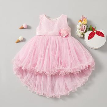 1pc Baby Girl Sleeveless  Sweet Costumes & Formal Dresses & Tuxedos