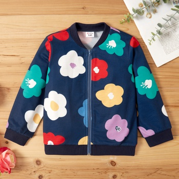 Toddler Girl Sweet Floral Jacket