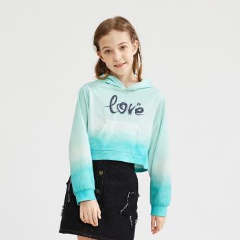 Kid Girl Hooded Sweatshirt