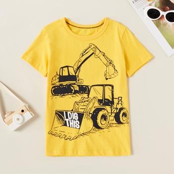 Fashionable Digger Print  Tee