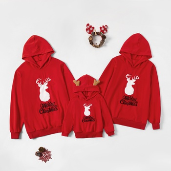 Merry Christmas Deer Series Family Matching Sweatshirts