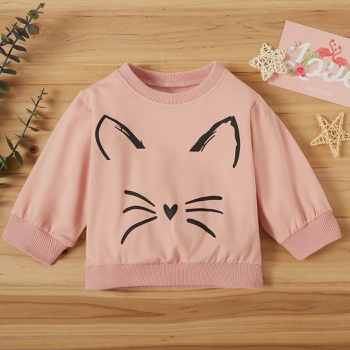 Baby Girl Casual Pullovers & Hoodies