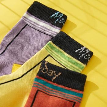 3-pack Baby / Toddler / Kid Fashion Letter Knitted Socks