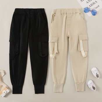 Trendy  Pocket Decor Harlan Overalls Pants