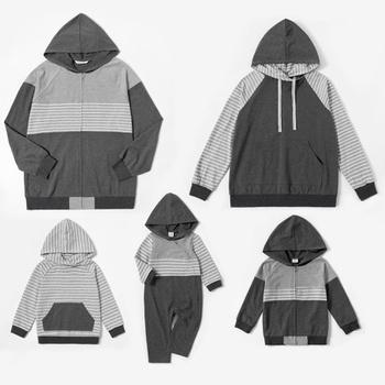 Mosaic Family Matching Grey Series Cotton Sets