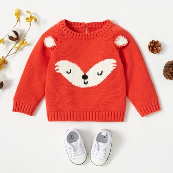 Baby Unisex Fox Sweater