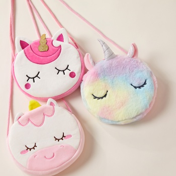 Cute Cartoon Unicorn Shoulder Bag for Girl