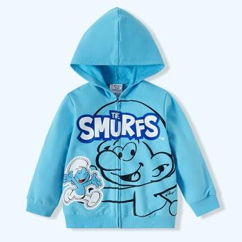 Smurfs Toddler Boy 100% Cotton Hooded Sweatshirt