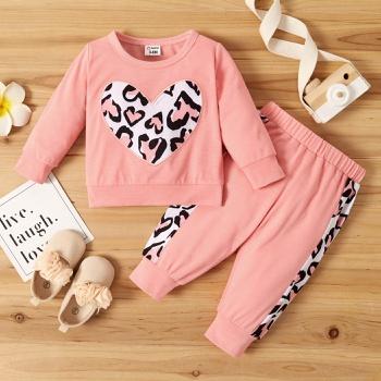 Baby Girl Sweet Leopard Sets
