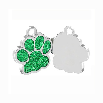 Pet Footprint Pendant & Keychain Decoration