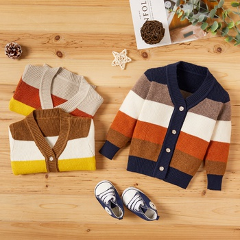 Baby Boy School Stripes Sweaters