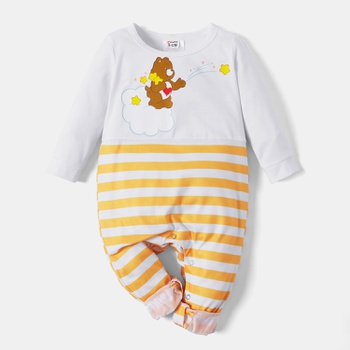 Care Bears Cloud and Stars Stripe Baby Jumpsuit